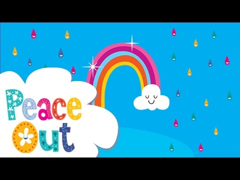 Peace Out Guided Relaxation for Kids | 12. Rainbow Waterfall
