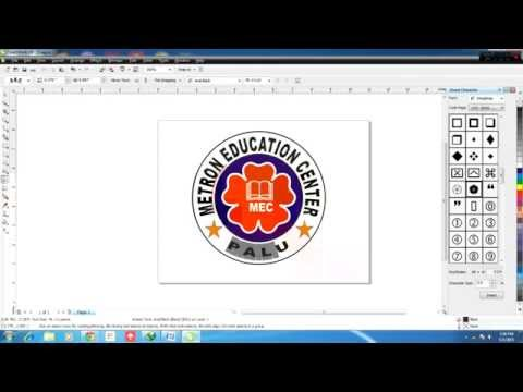 Cara Membuat Logo di CorelDraw X4
