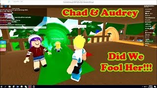 Chad & Audrey | ROBLOX Funny Bunny Gets Fooled Kid Friendly Family Friendly
