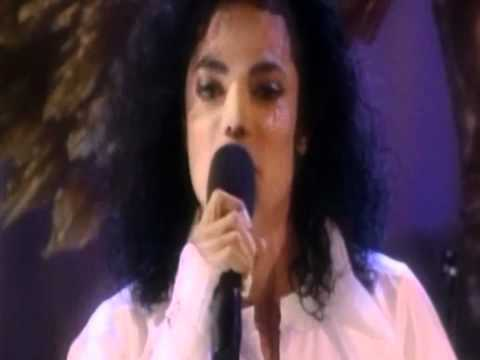 Michael Jackson Crying Live(100%Real Must See)