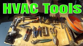 HVAC Tools - Basic Tools Needed for Beginner, Apprentice HVAC Technicians
