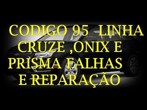 CARLOS -  CÓDIGO 95 LINHA  CRUZE ONIX E PRISMA FALHAS E REPARAÇÃO  DO AIRBAG