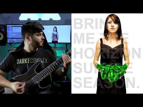 Bring Me The Horizon - Diamonds Aren't Forever (Guitar Cover + Instrumental) #throwbackthursdaycover