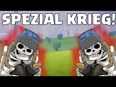 Clash of Clans ☆ RIESENSKELETT Spezial Clan War!