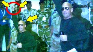 Reporter Calls Vin Diesel Takla (Bald)   What He Does Next Will Blow Your Mind