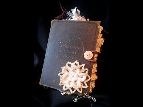 Vintage Dictionary Prayer Journal