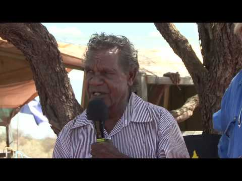 Part 3 Speeches: Opening Protest House Ampilatwatja Walk-off