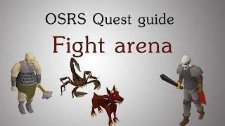 [OSRS] Fight arena quest guide