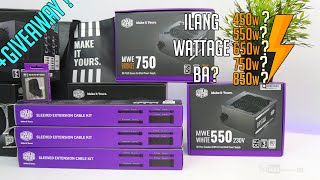VLOG: Ilang wattage ang kelangan ng PSU sa PC build? ft. Cooler Master MWE Power Supply V2 +GIVEAWAY
