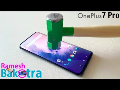 OnePlus 7 Pro Screen Scratch Test