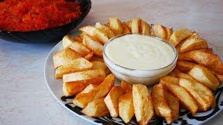 Ужин на Всю Семью на Скорую Руку Рыбка в подливе и картофель фри в сырном соусе
