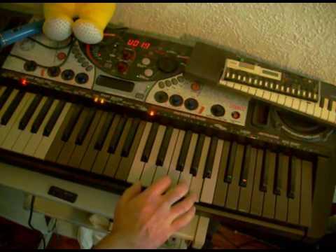 Airwolf Gabriels Theme Keyboard Lesson Tutorial