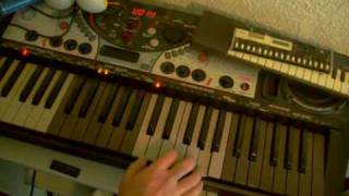 Airwolf Gabriels Theme Keyboard Lesson Tutorial
