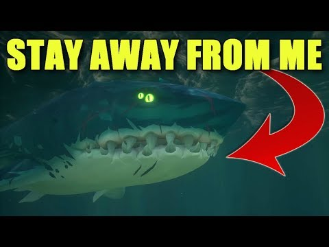 Sea of Thieves - Training My Megalodon!
