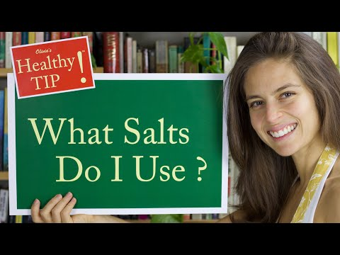 #1 How I Get 84 Minerals and Trace Minerals every Day: Healthy Salts!