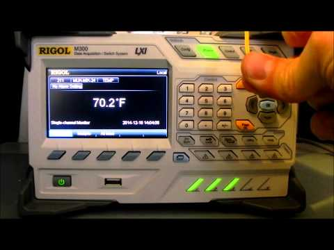 Introduction of the M300 series Data Acquisition and Switch System Part 3