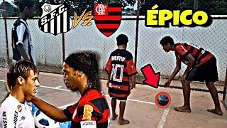 Santos vs Flamengo - Brasileirão de criança (Brasileirinho 2019)