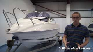 Galeon Galia 485 For Sale UK and Ireland -- Review and Water Test by GulfStream Boat Sales