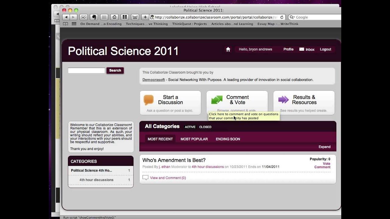 Collaborize classroom tutorial youtube.