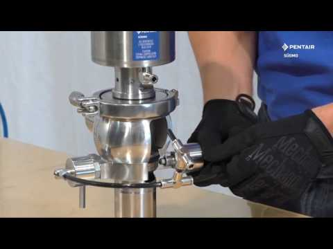 Pentair Südmo Double Seal Valve SD-Economic SD370 - Maintenance video