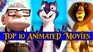 Top 10 Animated Movies (Hindi)