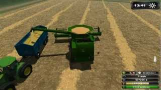 Farming Simulator 2011 Platinum Edition Harvesting With John Deere Pack