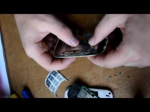 разборка Nokia 2680 slide (2 части)