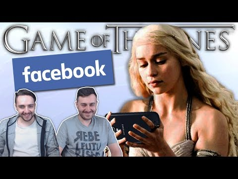 """""""If Game of Thrones Had Facebook"""" Reaction"""
