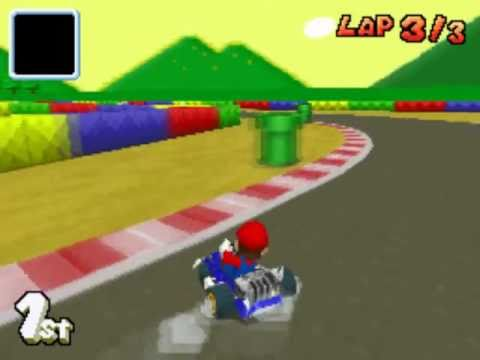 mario kart ds snes mario circuit 1 youtube. Black Bedroom Furniture Sets. Home Design Ideas