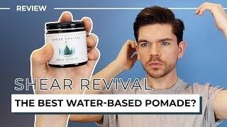 Shear Revival Crystal Lake | Honest Review | Water-Based Pomade