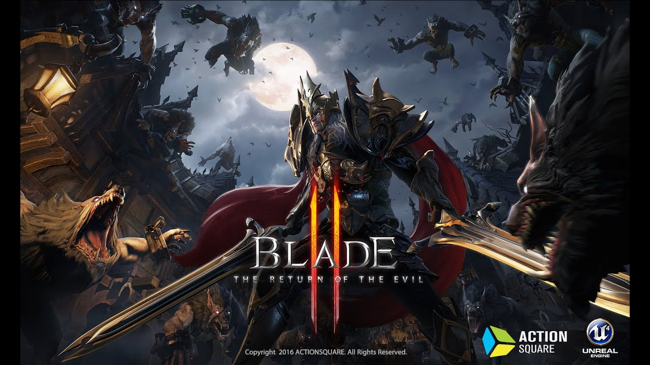BLADE2 Gameplay Playable Characters 2nd Trailer (블레이드2) - YouTube