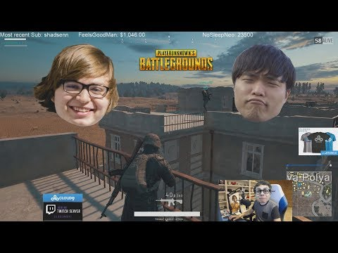 Sneaky and Impact PUBG adventures Ft Jensen and Jonny - Clean comms