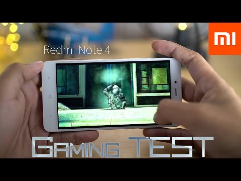 Xiaomi Redmi Note 4 - Gaming Test