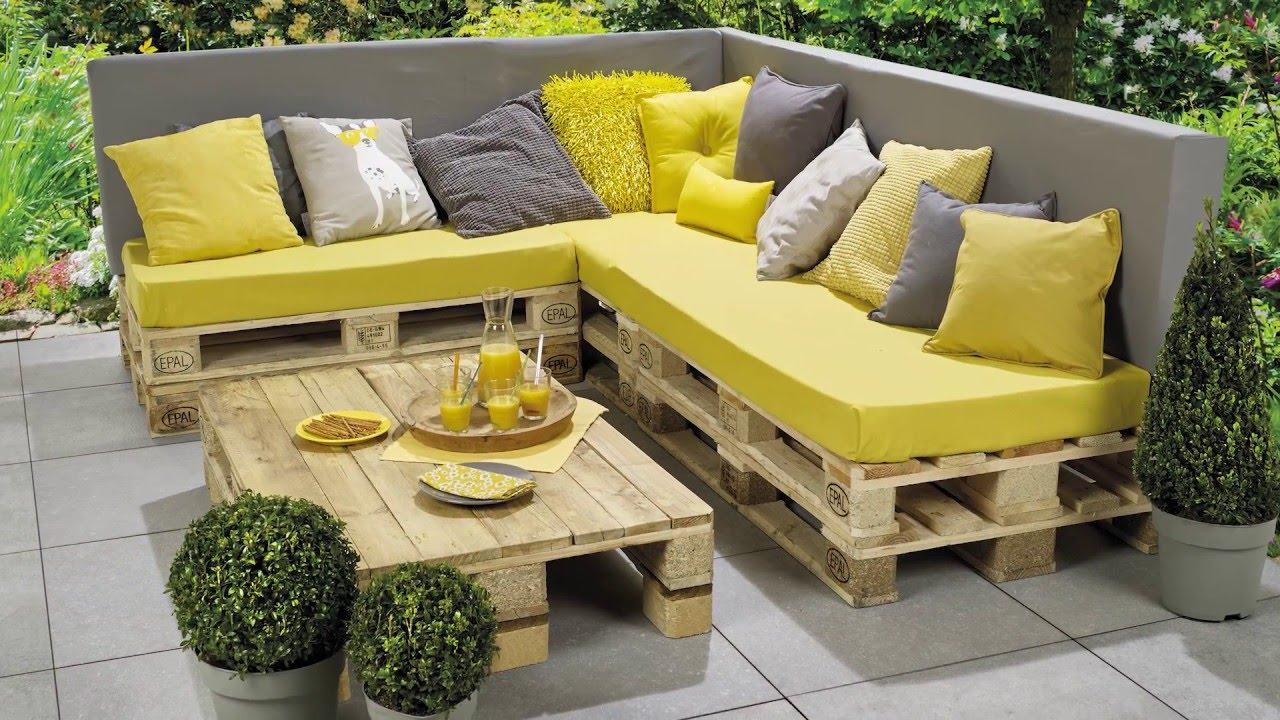 banc lounge et table en palettes etape par etape pour les makers
