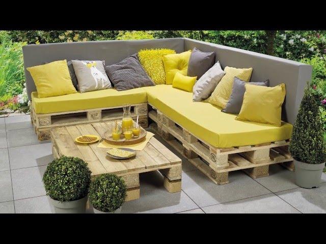 Du salon au jardin, huit façons de se meubler en recyclant ...