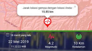 Download Video Gempa Kota Kudus 22 Mei 2019 11:22:22 MP3 3GP MP4