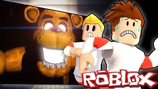 Roblox Adventures - JUMP INTO FREDDY FAZBEAR'S MOUTH! (Hole in The Wall)