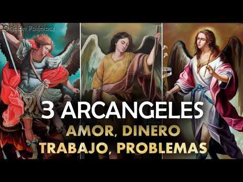 Oraci�n a los 3 Arc�ngeles para peticiones muy dif�ciles y desesperadas, amor, dinero, trabajo, prob