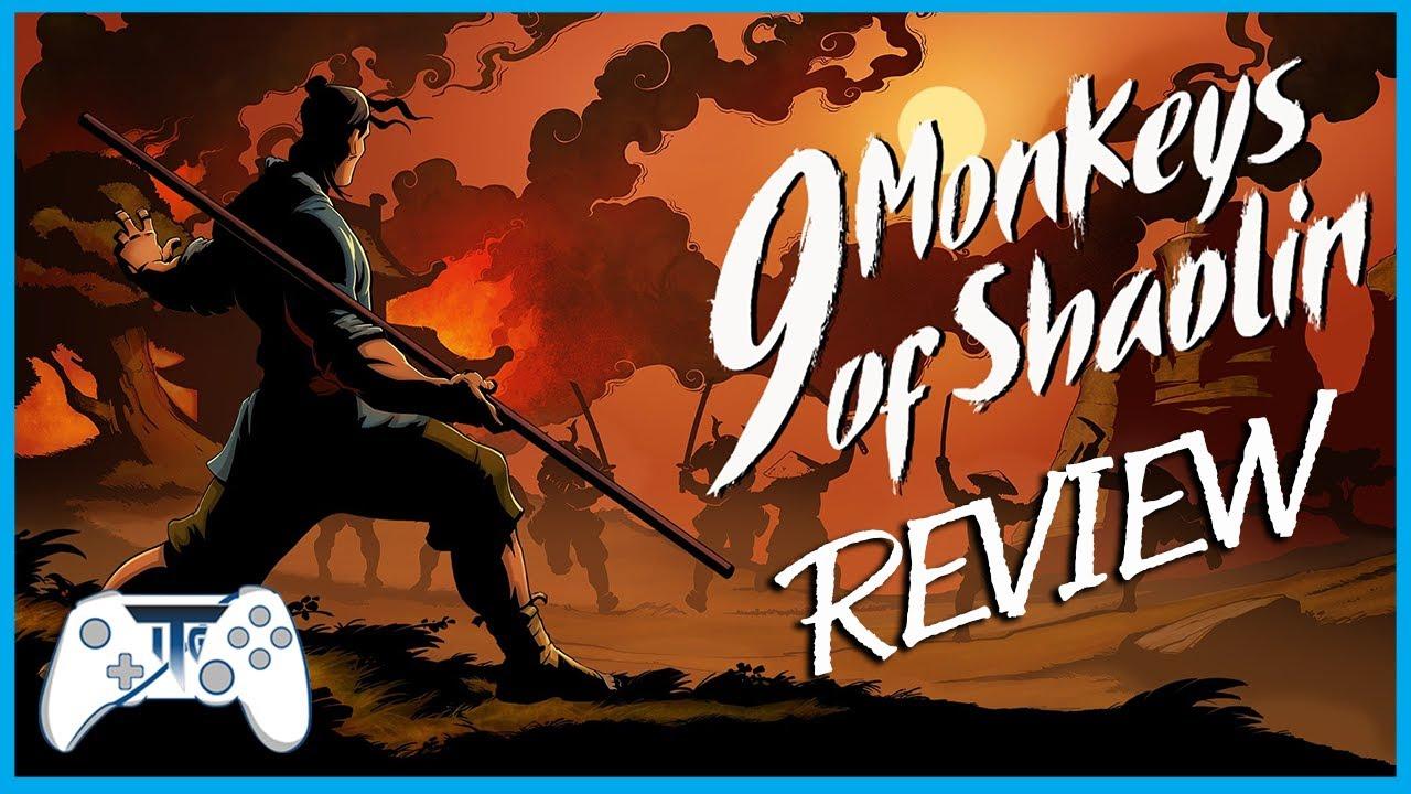 9 Monkey of Shaolin Review - HIIIIYAAAA! (Video Game Video Review)