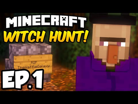 Minecraft: WITCH HUNT Ep.1 - ROBBERY, MURDER & CANDY MYSTERY!!! (Minecraft Adventure Map)