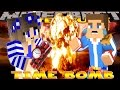 Minecraft - Donut the Dog Adventures -CARLY BOMBS DONNY'S PALACE!!!!