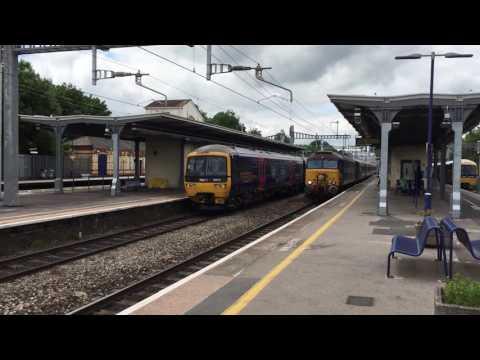 3 unusual trains passing Maidenhead