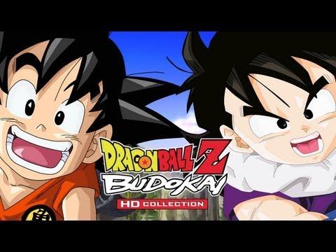 Kid Goku vs Kid Gohan - Budokai 3: DBZ Budokai HD Collection【1080p HD】  