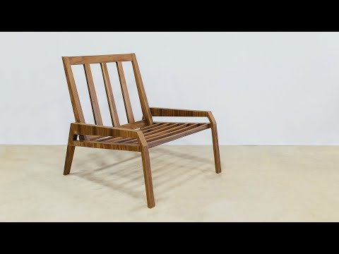 Building a Plywood Lounge Chair