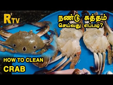 How to Clean Crab in Tamil | ThiruTamizhan