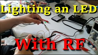 RF Energy Harvesting - Building Joe Tates Ambient Power Module To Light an LED