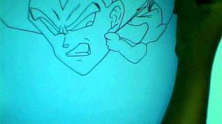 HOW TO DRAW VEGETA TRUNKS BULMA