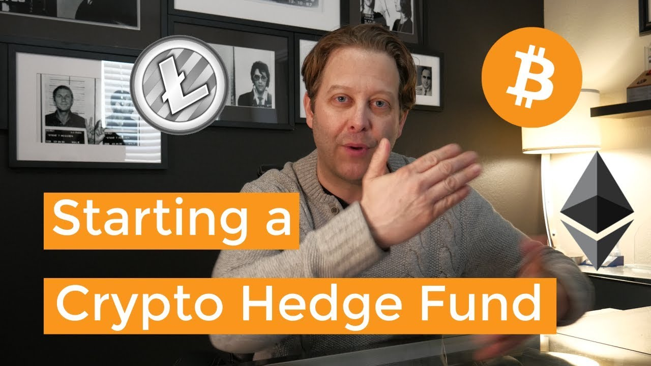 Cryptocurrency hedge fund startup