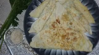 #армянскаякухня Лепешки ека с сыром и яйцом