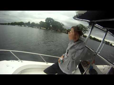 Boating on Lake Minnetonka, Minnesota